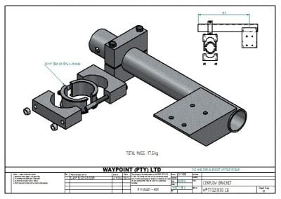 CONFLOW BRACKET WP170210 00 CB